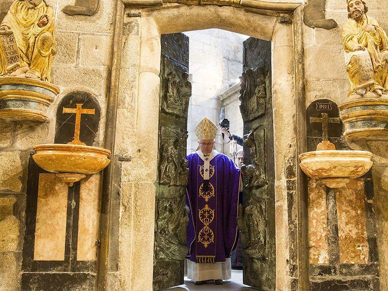 heilige Pforte Santiago